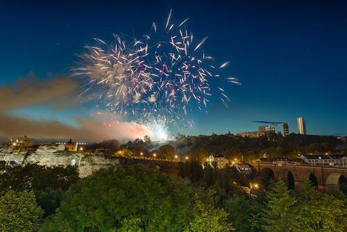 National Feierdag's fireworks