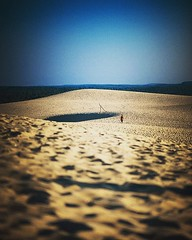 Seul au monde #sable #ladune #dunes #plage #ladunedupilat #latestedebuch #aquitaine #traces #photoftheday #instadaily #instaphoto #instaphotography (Philippe Gillotte) Tags: square squareformat lark iphoneography instagramapp uploaded:by=instagram