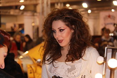 Promoter (themax2) Tags: portrait girl face model hostess 2010 padova promoter motorbikeexpo