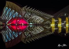 Reflections (Alfonso Beltran) Tags: nightphotography reflection night colours olympus reflejos valenciaspain