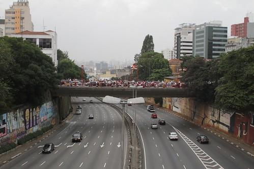 LIberdade, looking to east, São Paulo