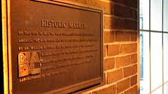 """Historic Marker"" (Jason Riedy) Tags: boston massachusetts marker historicalmarker siamcse13 siamcse2013"