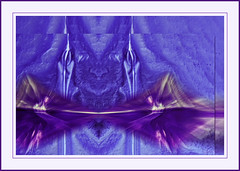 Guardians (CaBAsk! on and off. Thank U for the visit ) Tags: light abstract art face animals energy shadows purple magenta angels phot guardians