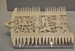 Ivory comb (1080-1100), British Museum, London. (greentool2002) Tags: london museum ivory british comb