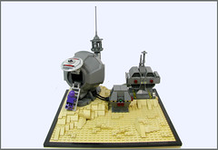 Isolation (Karf Oohlu) Tags: alone lego space isolation minifig diorama moc spacebase