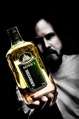 Absinth (Erik Furulund) Tags: portrait white man black green norway photography stavanger photo bottle flask hand spirit portraiture absinthe booze absinth wormwood greenfairy supergreen greenmuse psychoactive artemisiaabsinthium erikfurulund