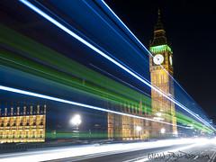 Westminster (Dru Dodd) Tags: uk longexposure travel bridge dru light england london long exposure traffic politics trails parliament olympus andrew lighttrails mp e30 dodd