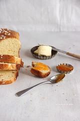 painbrioche098 (la cerise sur le gâteau) Tags: food cooking breakfast bread baking pain patisserie pastry brunch jam brioche