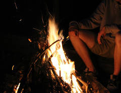 Fire Duty (Holly Louise Milner) Tags: nottingham trees friends boy summer nature leaves landscape fire warm village natural branches exploring flames adventure heat fields shorts twigs firewood nottinghamshire strelley