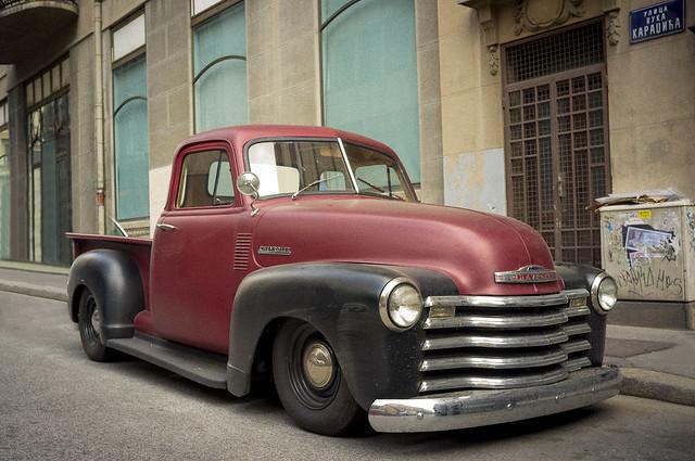street car hotrod belgrade colorstreet fujifilmx100 1947chevypickuphotrodtruck