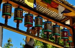 Prayer Wheels - Explored! (@mons.always) Tags: travel nikon asia bhutan buddhism monastery prayerwheel taktsang prayerflags d90 18105mm