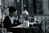 """concentrarsi ... nell'informazione ("""" paolo ammannati """") Tags: city italy italia raw photographer tuscany donne toscana 1001nights viaggi biancoenero arezzo paoloammannati"""