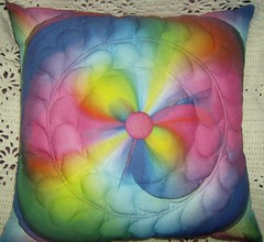 Pillow Tropical Amazing Circle--1000+ views!