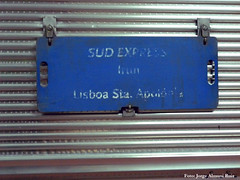 Sud Express. (Tomeso) Tags: car train spain lisboa international express placa sud irun itinerario sorefame