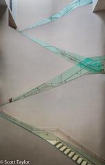Ashmolean Staircase (Scrufftie) Tags: uk england museum canon unitedkingdom oxford ashmolean lightroom4 canonpowershotg15