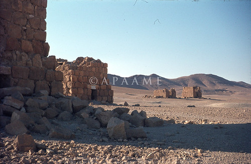 Palmyra - Monumental tombs
