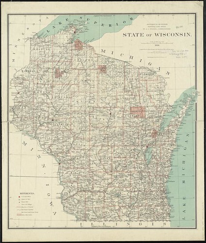 The Purple State of Wisconsin