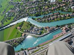 Switzerland ...at my feet (vittorio vida) Tags: landscape switzerland flying swiss flight paragliding