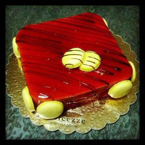 #halloween con un bel dolce ROSSO #sangue #cake