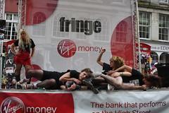 Edinburgh Fringe 2013: Am I ? (chairmanblueslovakia) Tags: street city money festival scotland am high edinburgh stage capital royal scottish fringe virgin joanna mile i puchala