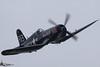Corsair Flying Red Bull (F4U1 Corsair) Tags: red canon flying d sigma meeting bull corsair 50 eso alais f4u4 ferté 120400 oeeas