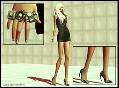 My Daily Stilletos (Sera(gig1 resident)Miss Face Of Vogue 2012) Tags: new art fall leather fashion hair fur rouge photography design ginger blog clothing model shoes remember dress mesh nail tube style jewelry mandala daily pearls ring coco claw polly second heels lipstick trend blush couture styling sera cosmetic patent resident stilleto redgrave magika slink tippet gig1 blackliquid tokyoska chiczafari jonyaranda levenchy