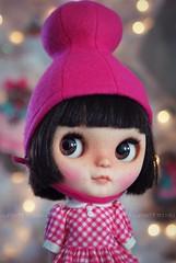 A Doll A Day. Dec 12. Waffles.