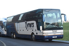 TYR1R Tyrers, Chorley (highlandreiver) Tags: bus club football coach united north chorley cumbria end preston van fc carlisle tyr pne hool 1r lanacashire tyrers tyr1r