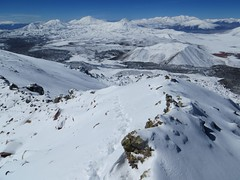 View from the summit of El Condor (6440m)