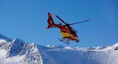 EC-135 is coming 4 (WeatherMaker) Tags: winter mountain snow ski mountains alps salzburg austria skiing 135 eurocopter ec kitzsteinhorn pinzgau
