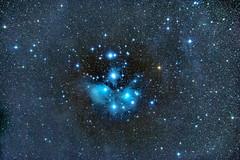 M45 Seven Sisters (egidioalpago) Tags: stars m45 astronomy deepspace pleiadi astrofili