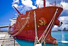 Songa Hawk (Barbados) (Rey RR) Tags: port boat rust ship barbados