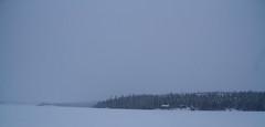 Pontoon Lake(2014) (VRileyV) Tags: snow landscape northwestterritories pontoonlake lowlightshot january2014
