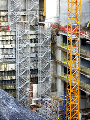 day2869 thu23jan2014 (a.pic.a.day) Tags: building architecture stairs project turkey design construction stair hole designer istanbul pit architect trap turkije jobsite gat trappen ontwerp constructie buildingpit construcite