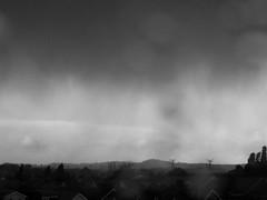 UK weather, stormy weather (dawn.v) Tags: uk winter england blackandwhite wet weather whatevertheweather windy stormy urbanexploration dorset february poole darkclouds rainclouds throughmywindow wetweather ukweather drivingrain winterstorms hamworthy ukstorm ukstorms lumixtz25