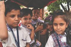 (Olga Pibars) Tags: school india kids children child nios laugh tuktuk jaipur