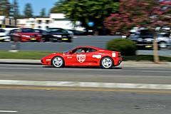 Ferrari F360 Panning (Alan T. Photography) Tags: flickr like automotive mclaren panning supercar share mclarenmp412c