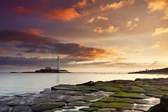 St. Mary's Lighthouse (Alistair Bennett) Tags: lighthouse seascape sunrise coast rocks stmarys whitleybay tynewear baitisland canonef1740mm4lusm gnd075he gnd045se
