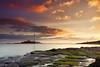 St. Mary's Lighthouse (Alistair Bennett) Tags: lighthouse seascape sunrise coast rocks stmarys whitleybay tynewear baitisland canonef1740mmƒ4lusm gnd075he gnd045se