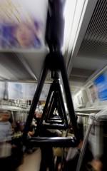 Subway Train. Tokyo.