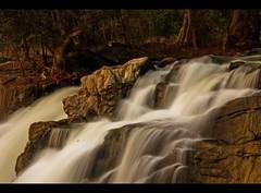 Hogenakkal Falls (Pattugrapher) Tags: longexposure india water waterfall stream falls slowshutter flowing kaveri tamilnadu southindia hogenakkal dharmapuri