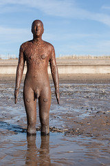 Another Place (Daveybot) Tags: sculpture art beach coast seaside gormley crosby anthonygormley anotherplace