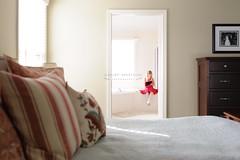 0045 - 2.14.14 - 1.36PM (AshleySpauldingPhotography) Tags: light art girl bathroom bed bedroom framed crafts framing