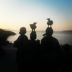 (scyllis73) Tags: sculpture edmonds olympicbeach flickrandroidapp:filter=none