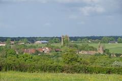 Brosse village and castle ruins