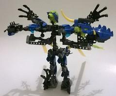 7 (ezrawibowo) Tags: robot dragon lego transformer scifi bionicle surge moc herofactory legoformer bioformer dragonbolt