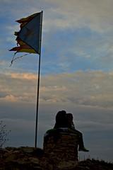 Creu de Gurb (jooeel.baeza) Tags: nikon bandera vic osona estelada gurb nikond3200 creudegurb