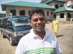 The driver friend of Chamindra near Nuwara Eliya!
