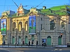 Latvian National Theatre building in Riga, Latvia. February 3, 2015 (Vadiroma) Tags: city winter building architecture facade europe theatre capital baltic latvia riga nationaltheatre rga latvija 2015 dramatheatre