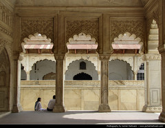 Red Fort, Agra, India (JH_1982) Tags: world red india building heritage monument wall rouge site fort culture agra landmark historic unesco rosso indien forte inde rda walled pradesh uttar  rotes fuerte  benteng czerwony   ndia  fortet   pho